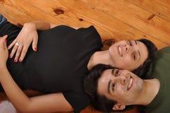 Amitié de soeur et de frère Images libres de droits