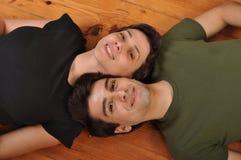 Amitié de soeur et de frère Image libre de droits