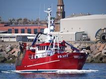 Amitié II PD177 de bateau de pêche images stock