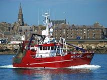 Amitié II PD177 de bateau de pêche images libres de droits
