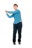 Amitié. Mains jointives par hommes dans un poing Photographie stock