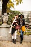 Amitié multiraciale Image libre de droits