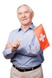 Amitié suisse Photo libre de droits