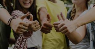 Amitié Team Concept d'amis d'adolescents Photo libre de droits