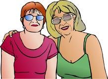 Amizade ilustração stock