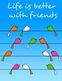 Amizade Fotos de Stock