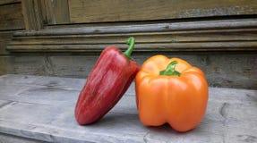 Amizade da pimenta Fotos de Stock