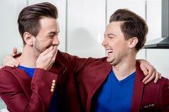 Amizade dos irmãos Fotos de Stock Royalty Free