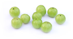 Amla fruits Stock Images