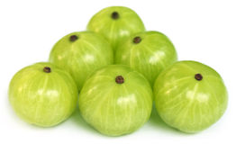 Amla fruits Royalty Free Stock Photo