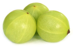 Amla fruits Stock Photos