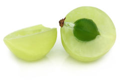 Amla owoc z selekcyjną ostrością Obrazy Royalty Free