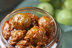 Amla Pickle - A popular Indian pickle Royalty Free Stock Image