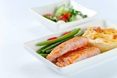 Amleto avec des saumons Photos libres de droits