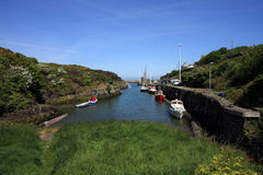 Amlwch port Royalty Free Stock Image