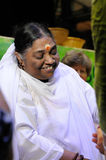 Amma Embracing the world Stock Image