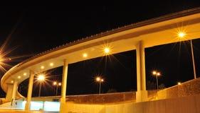 Amman alla notte Immagini Stock Libere da Diritti