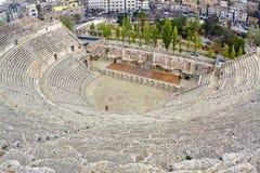 amman amphitheater jordan Royaltyfri Bild