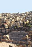 Amman,Ancient and Modern Royalty Free Stock Photo