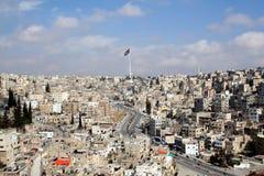 Amman, capital of Jordan. Amman viewed from the Citadel and temple of Hercules Stock Images