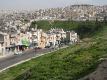Bird's eye view . Amman. Jordan royalty free stock photos