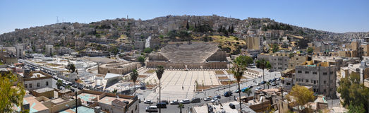Amman, the capital of Jordan Royalty Free Stock Photography