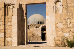 Umayyad Palace at Amman Citadel Royalty Free Stock Photos