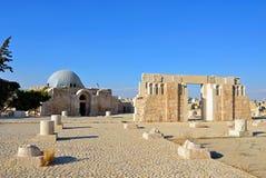 Amman Citadel royaltyfria foton