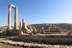 Amman Citadel Stock Photos
