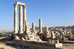 Amman Citadel Stock Photo