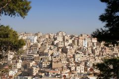 Amman city. Stock Images
