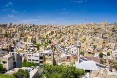 Amman city the capital of Jordan. Amman city the capital of Jordan royalty free stock photography