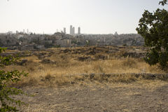 Amman city stock photo