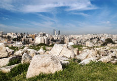 Amman city Royalty Free Stock Image