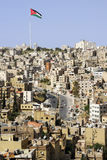 Amman city viewed from the citadel top, Jordan Stock Photography