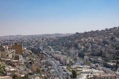 Amman da citadela Fotografia de Stock