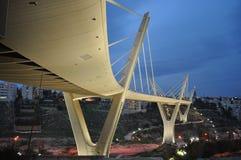 Amman en la noche fotos de archivo libres de regalías