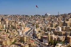 Amman est la ville capitale et plus grande de la Jordanie Photos libres de droits