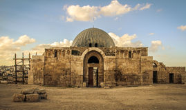 Amman gamla Mosk Royaltyfri Bild