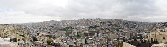 Amman, Giordano Immagine Stock Libera da Diritti