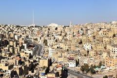 Amman, Jordan. Jabal al Hussein area in Amman, Jordan stock photos