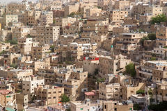 Amman, Jordan. Aerial view at Amman, Jordan Royalty Free Stock Photography