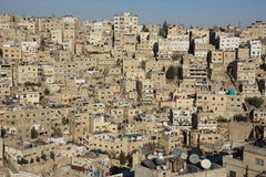 Amman in Jordan Stock Photo