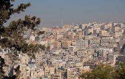 Amman, Jordan cityscape Stock Images
