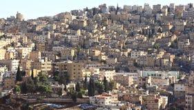 Amman, Jordan. Jabal al Hussein area in Amman, Jordan royalty free stock photos