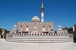 Amman, Jordan, Middle East, skyline, mosque, Abu Darwish Mosque, islam, religion, place of worship. Jordan, 01/10/2013, view of the Abu Darwish Mosque, built in stock images