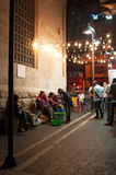 Amman, Jordan, Middle East. Jordan, 02/10/2013: water sellers at night in an alley of Amman, the capital and most populous city of the Hashemite Kingdom of stock images