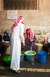 Amman, Jordan, Middle East. Jordan, 02/10/2013: water sellers at night in an alley of Amman, the capital and most populous city of the Hashemite Kingdom of stock photos
