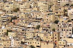 Amman, Jordan. View of the Jabal al-Hussein area from the Amman Citadel stock photo