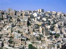 Amman in Jordanië Stock Afbeeldingen